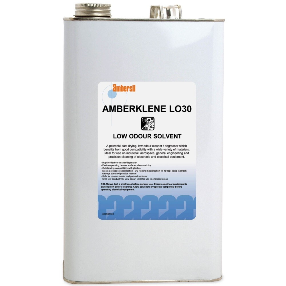 ambersil 31699 aa amberklene lo30 low odour solvent 5l from lawson his rh lawson his co uk Car Electrical Manuals Electrical Manuals SV 185