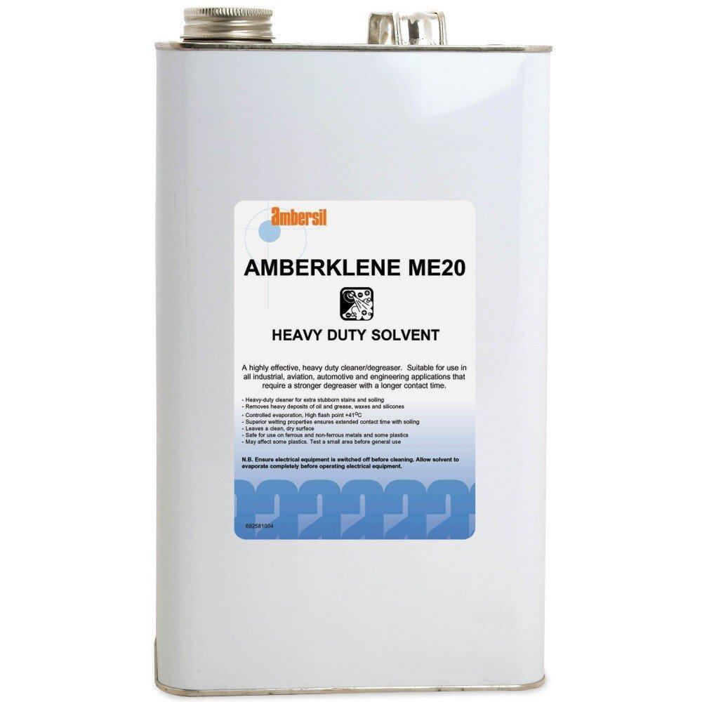 Ambersil 31636-AB Amberklene ME20 Heavy Duty Solvent 5L
