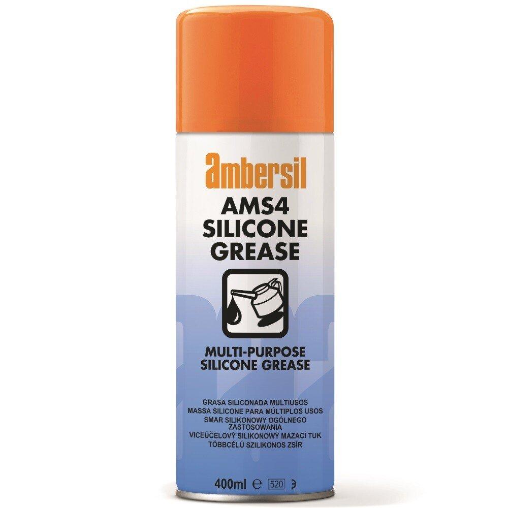 Ambersil 31566-AA AMS4 Multi Purpose Silicone Grease 400ml