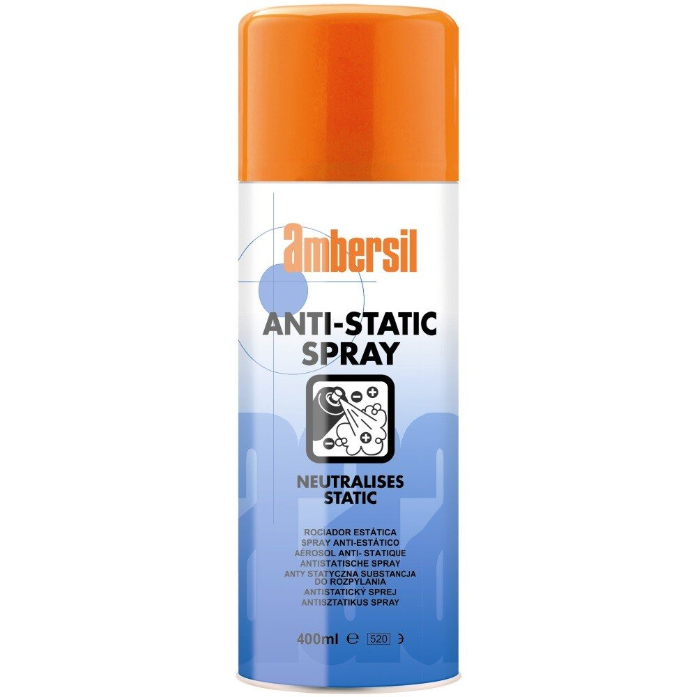 Ambersil 31561-AA Anti-Static Spray 400ml