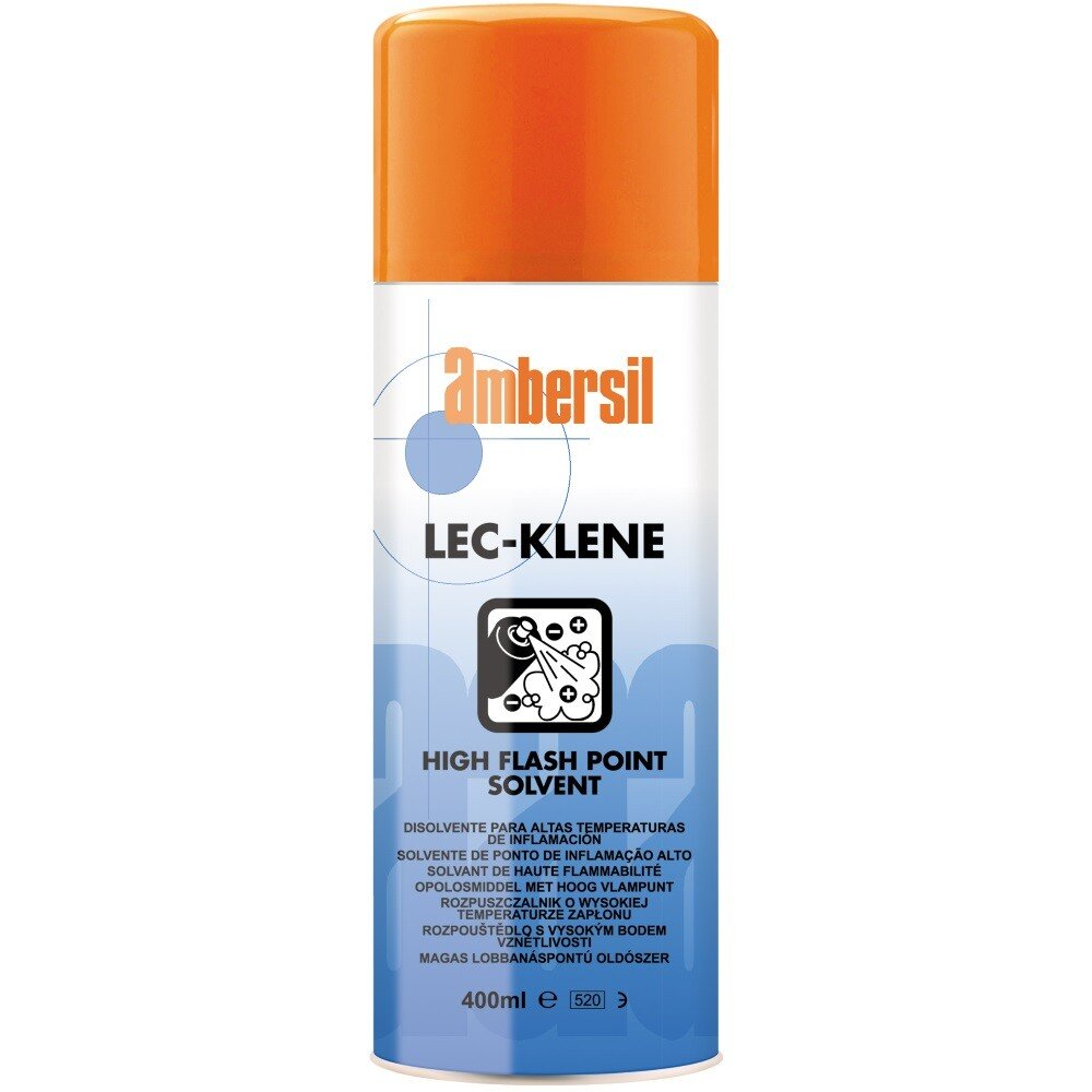 Ambersil 31557-AA Lec-klene High Flash Point Solvent 400ml (Carton of 12)