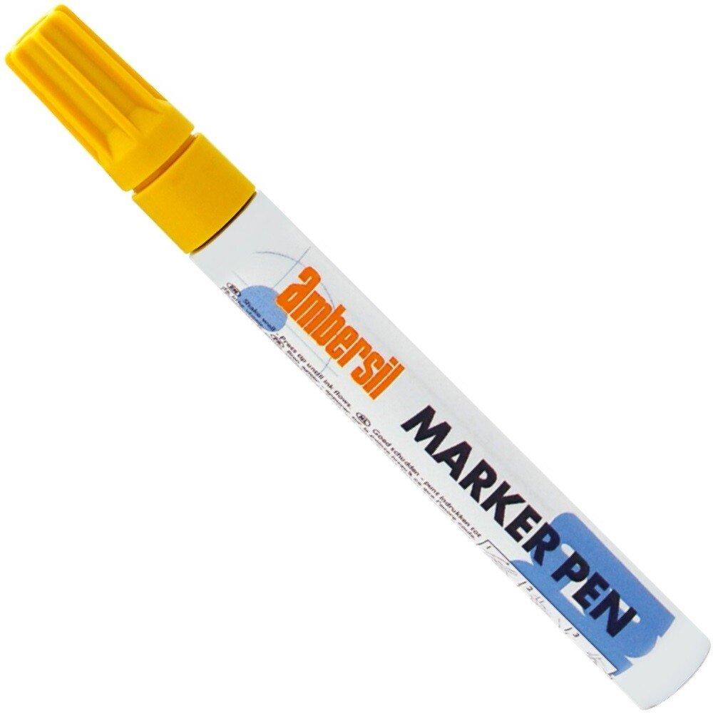 Ambersil 20399-AA YELLOW Paint Marker Pen