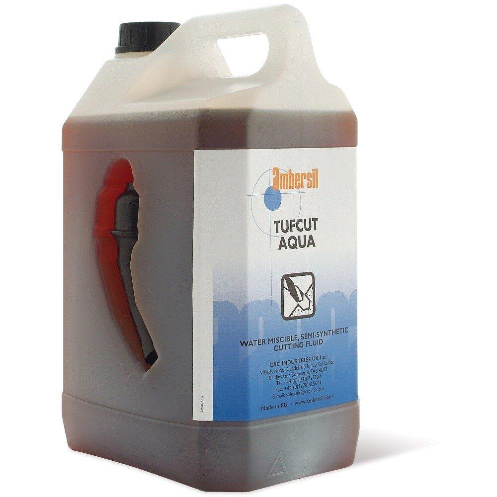 Ambersil 30313-AA Tufcut Aqua Water Soluble Semi Synthetic Cutting Fluid 5 Ltr