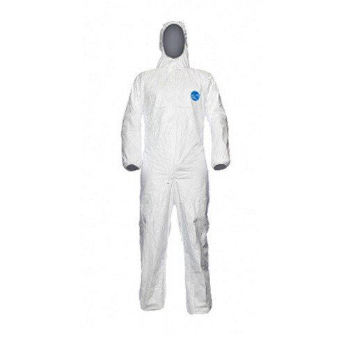 Dupont Tyvek 500 Xpert Classic Hooded Coverall (Category III, Type 5-B and 6-B)