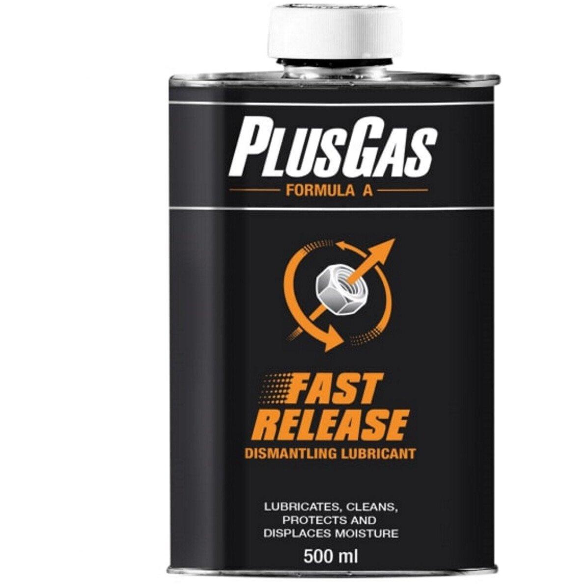 EAC 803-10 Plus Gas Formula A 500ml Dismantling Fluid Tin/Spout  PLG803