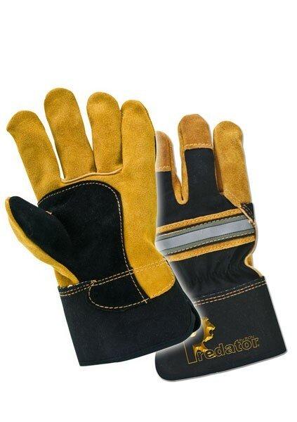 Lawson-HIS PRED 1 Hi Vis Superior Rigger Glove Cat 2 (Gold/Black)