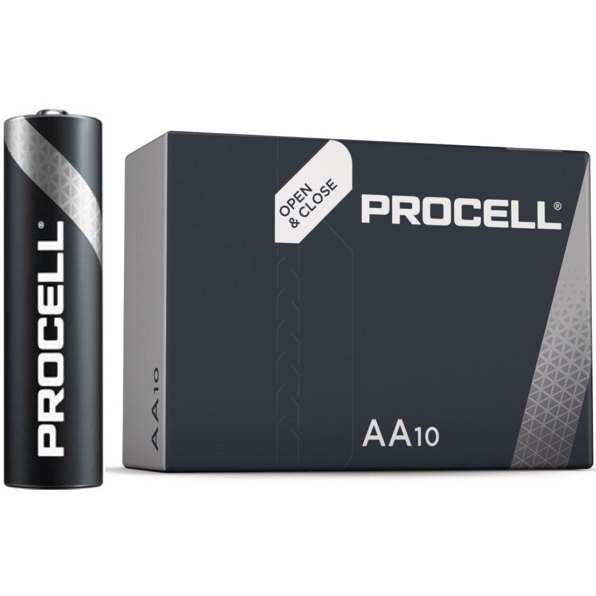 Duracell ID1500 AA LR6 Procell Alkaline Batteries Box of 10