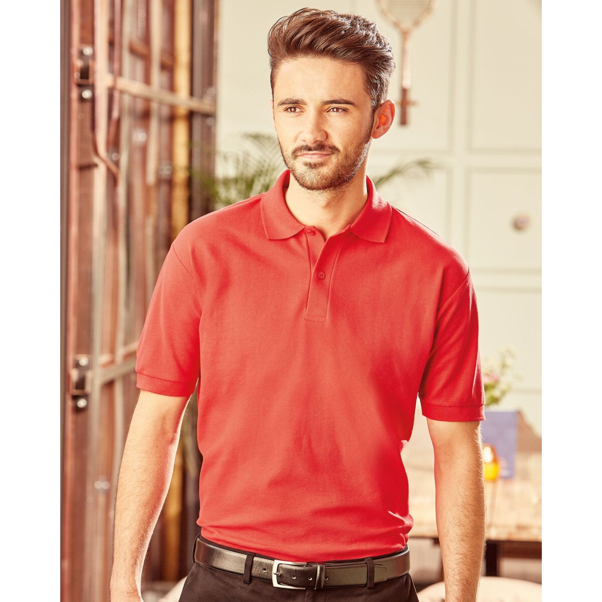 Russell 539M Men's Classic Polycotton Polo Shirt 3XL to 6XL