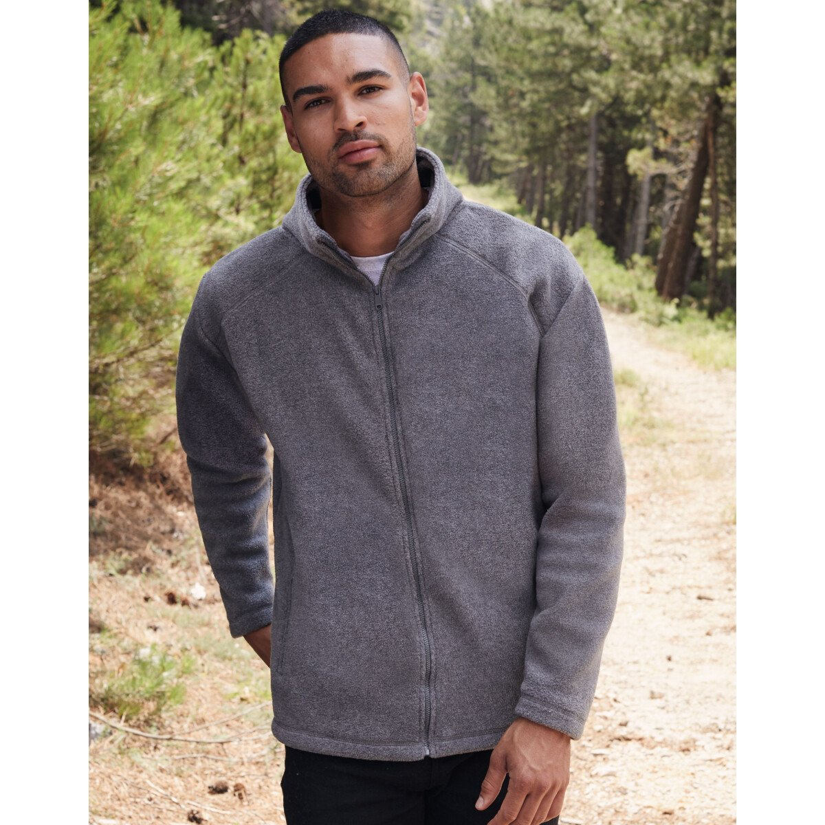 Fruit Of The Loom 62510 - Full Zip Outdoor Fleece -  Available in Various Colours
