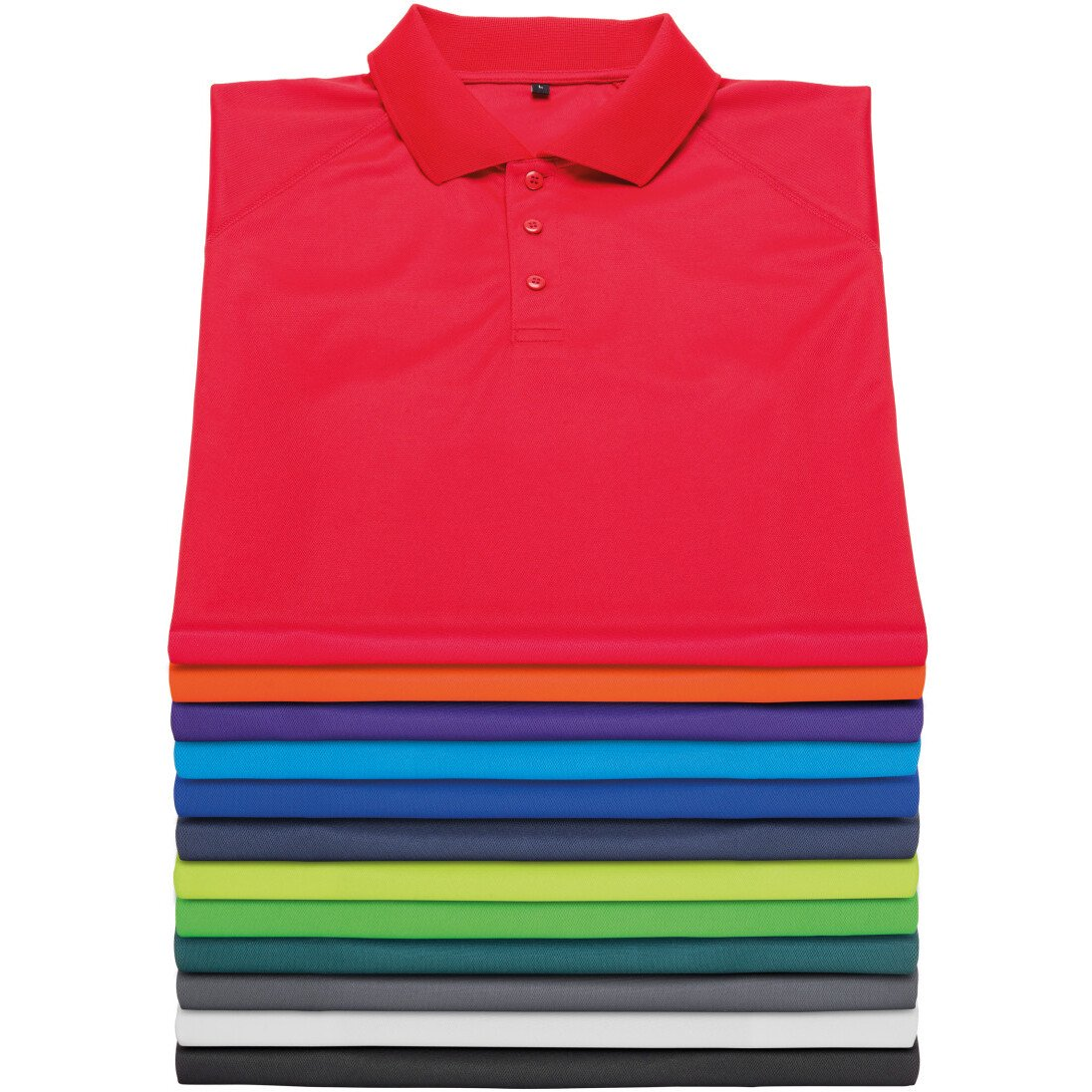 Spiro S288X Unisex Performance Air Cool Polo - Spiro Impact Fitness Wear - Available in a Range of Colours