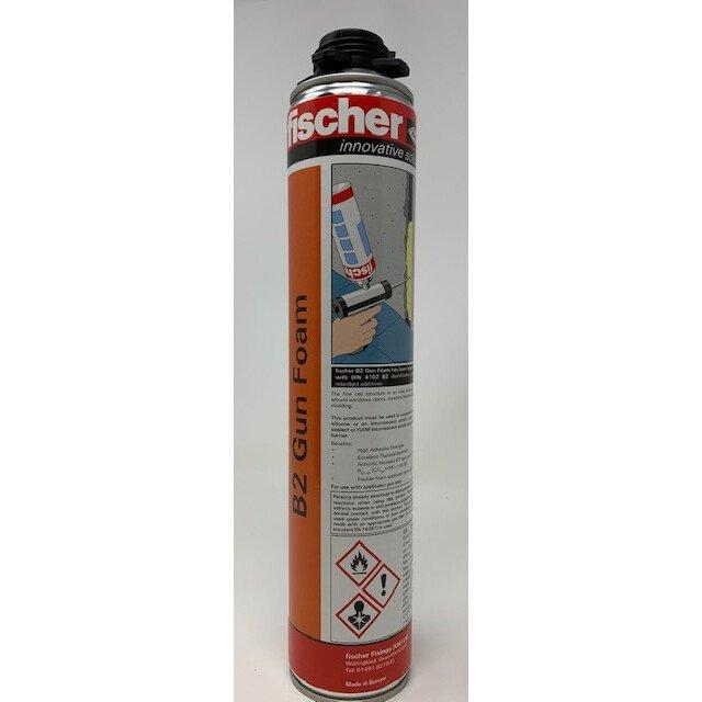 Fischer 42754 B2 Grade Fire Retardant Expanding Foam Buff  for a Gun 750ml