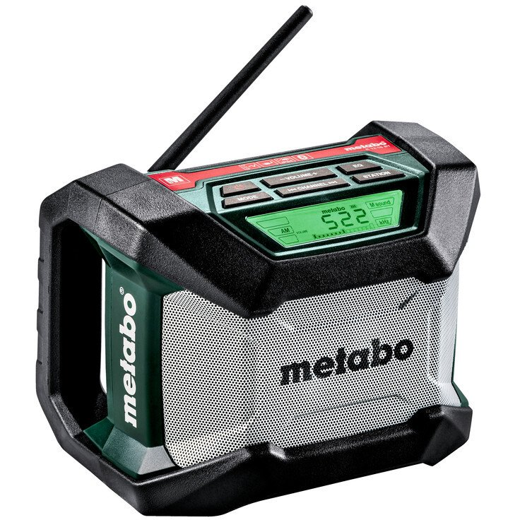 Metabo R12-18BT Body Only 12v - 18v AM/FM Radio with Bluetooth