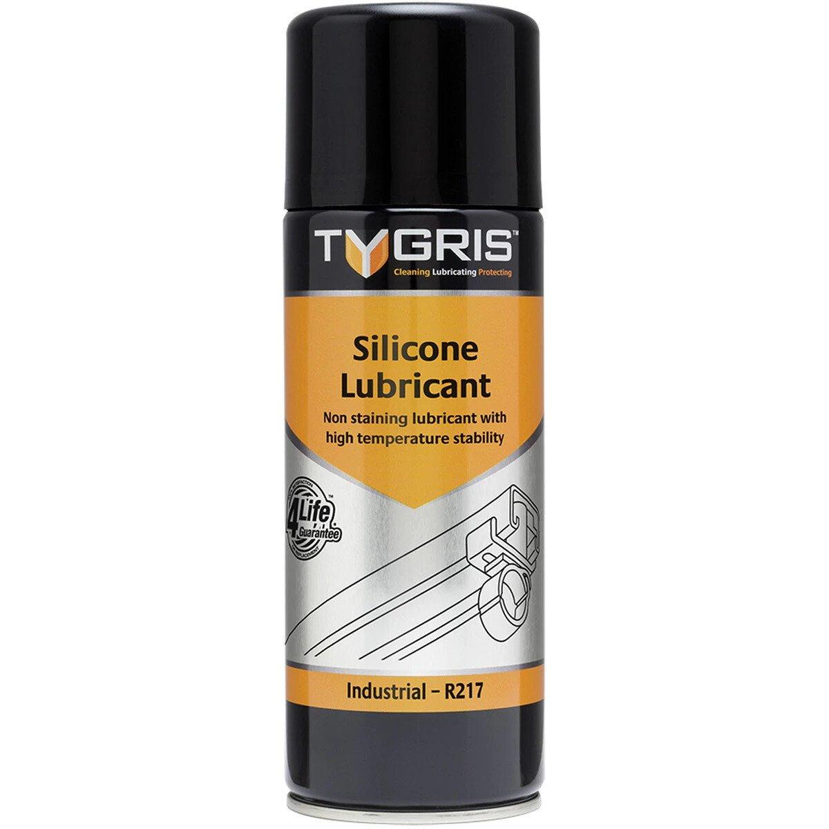 Tygris R217 Silicone Lubricant 400ml Aerosol Can