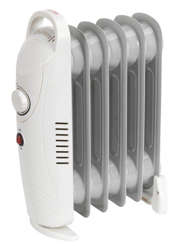 Sealey RD800 Oil-Filled Radiator Mini 800W/230V 6 Element