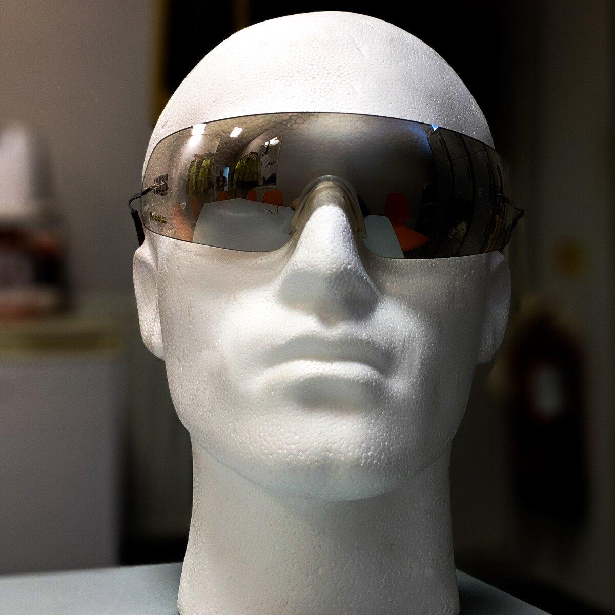 JSP Rebel I/O Clear Safety Spectacle, Wraparound Design with Soft Nose Bridge. UV Protect.