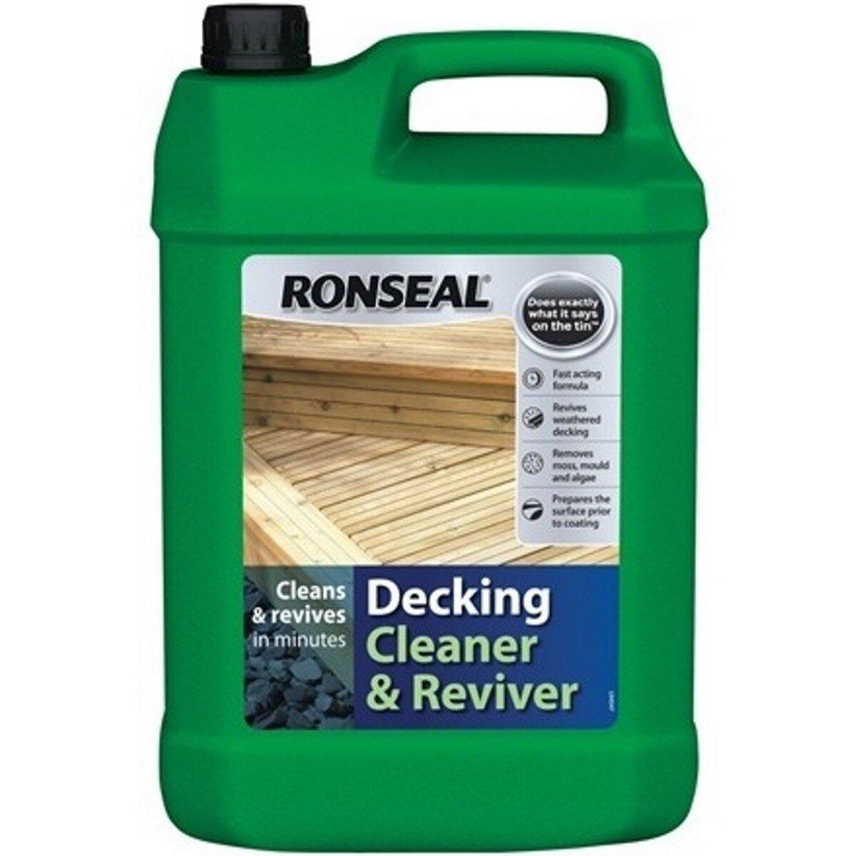 Ronseal 35903 Decking Cleaner 5 Litre RSLDC