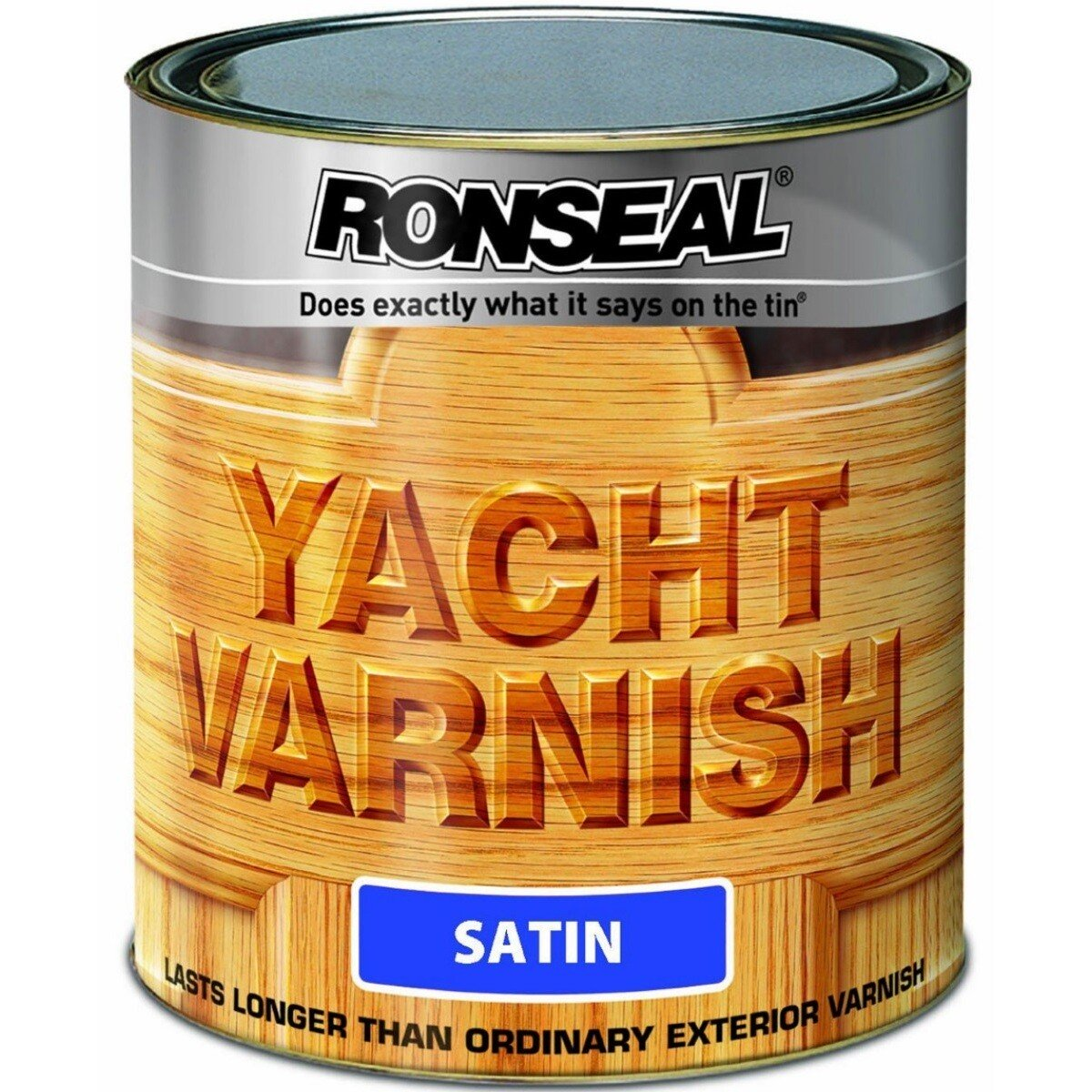 Ronseal 34909 Exterior Yacht Varnish 2.5 Litres RSLYVS25L