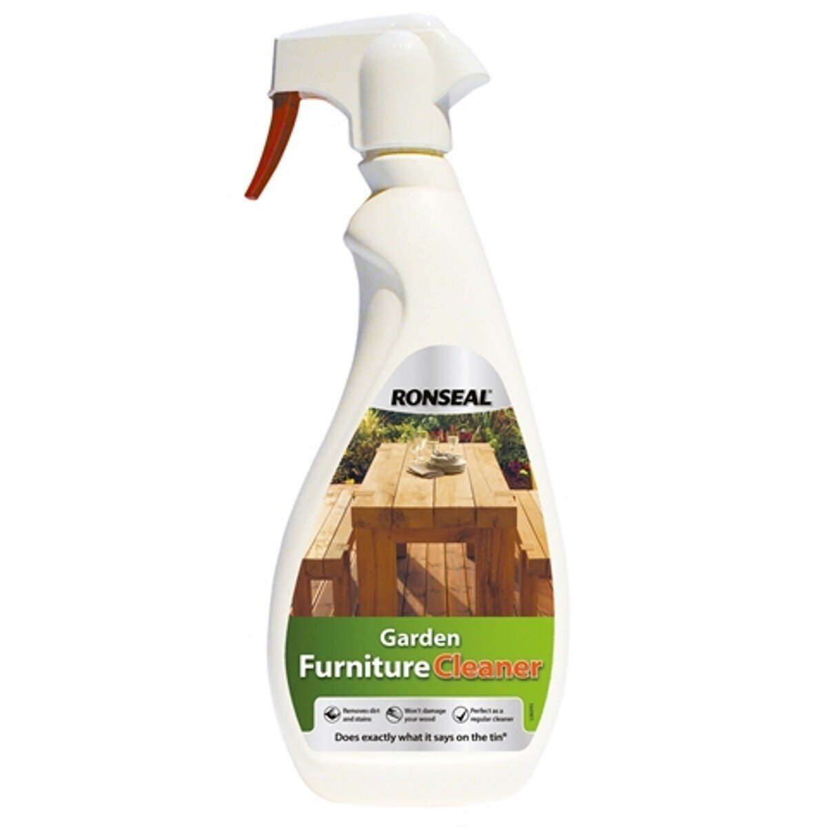 Ronseal 35128 Garden Furniture Cleaner 750ml RSLGFC750