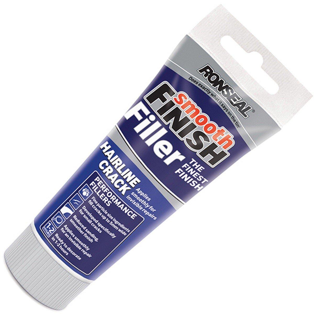 Ronseal 36555 Smooth Finish Hairline Crack Filler 330g RSLHLCF330G