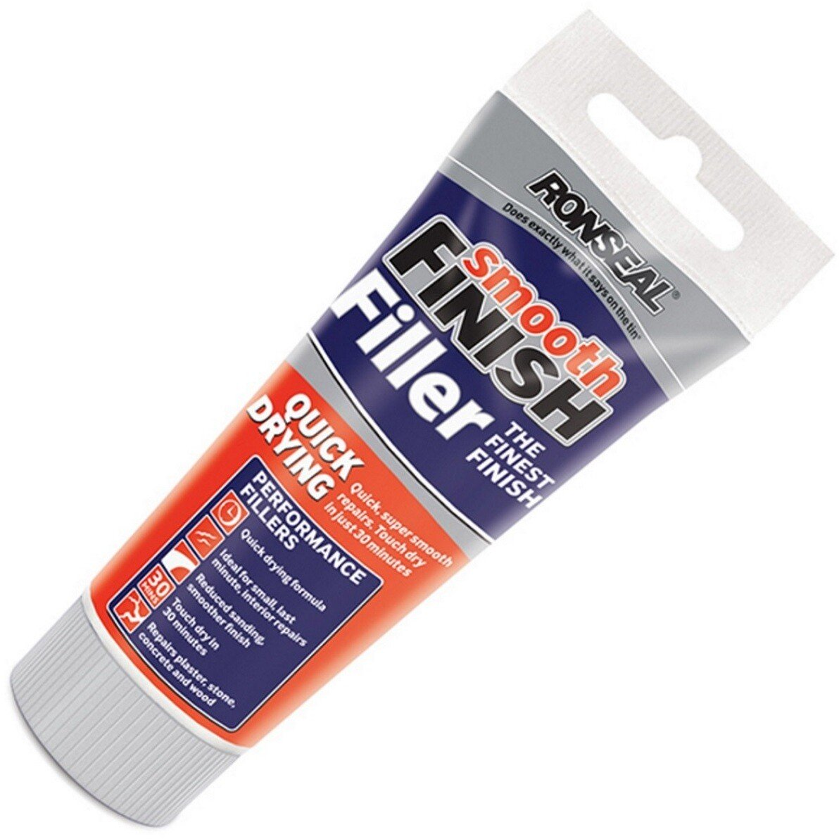 Ronseal 36552 Smooth Finish Quick Drying Multi Purpose Filler 330g RSLQDF330G