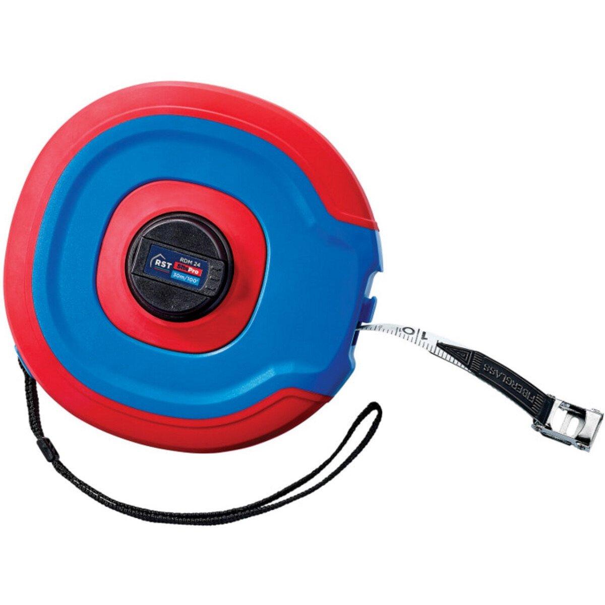 RST RDM24 SitePro Fibreglass Tape 30m/100ft (Width 13mm) RSTRDM24