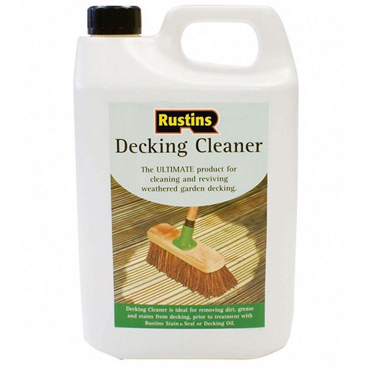 Rustins DECL4000 Decking Cleaner 4 Litre RUSDECL4L