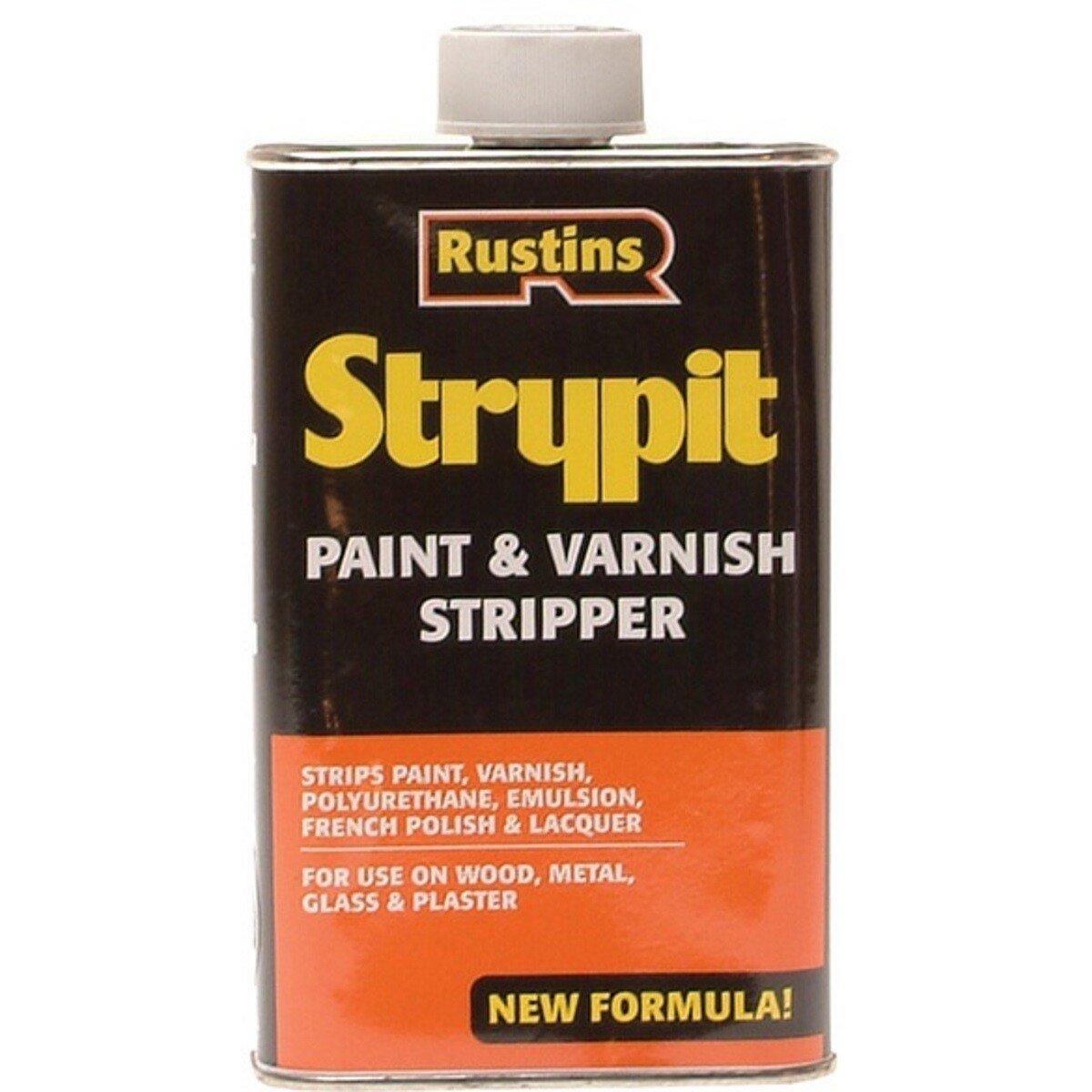 Rustins STNF500 Strypit Paint & Varnish Stripper New Formulation 500ml RUSNFS500