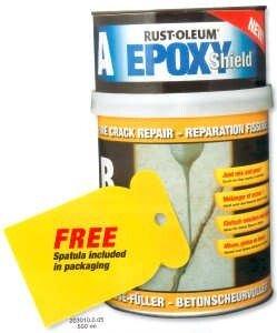 Rustoleum 203010.0.5 EpoxyShield Fine Crack repair Mortar