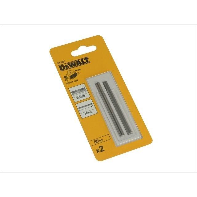 DeWalt DT3901-QZ 80mm TCT Reversible Planer Blades For Use With DW676K