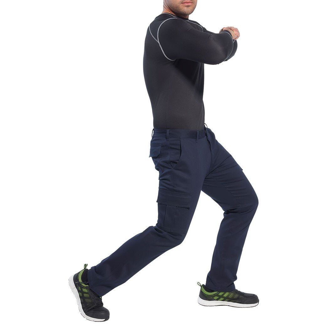 Portwest S231 Stretch Slim Combat Trouser Workwear - Regular Leg Length