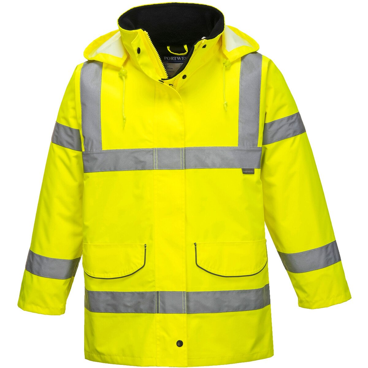 Portwest S360 Hi-Vis Ladies Traffic Jacket High Visibility - Yellow
