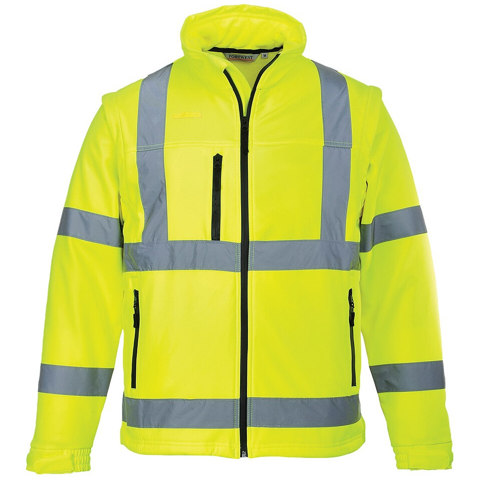 4d2068ae36 Portwest S428 Hi-Vis Softshell Jacket - Available in Yellow or Orange from  Lawson HIS