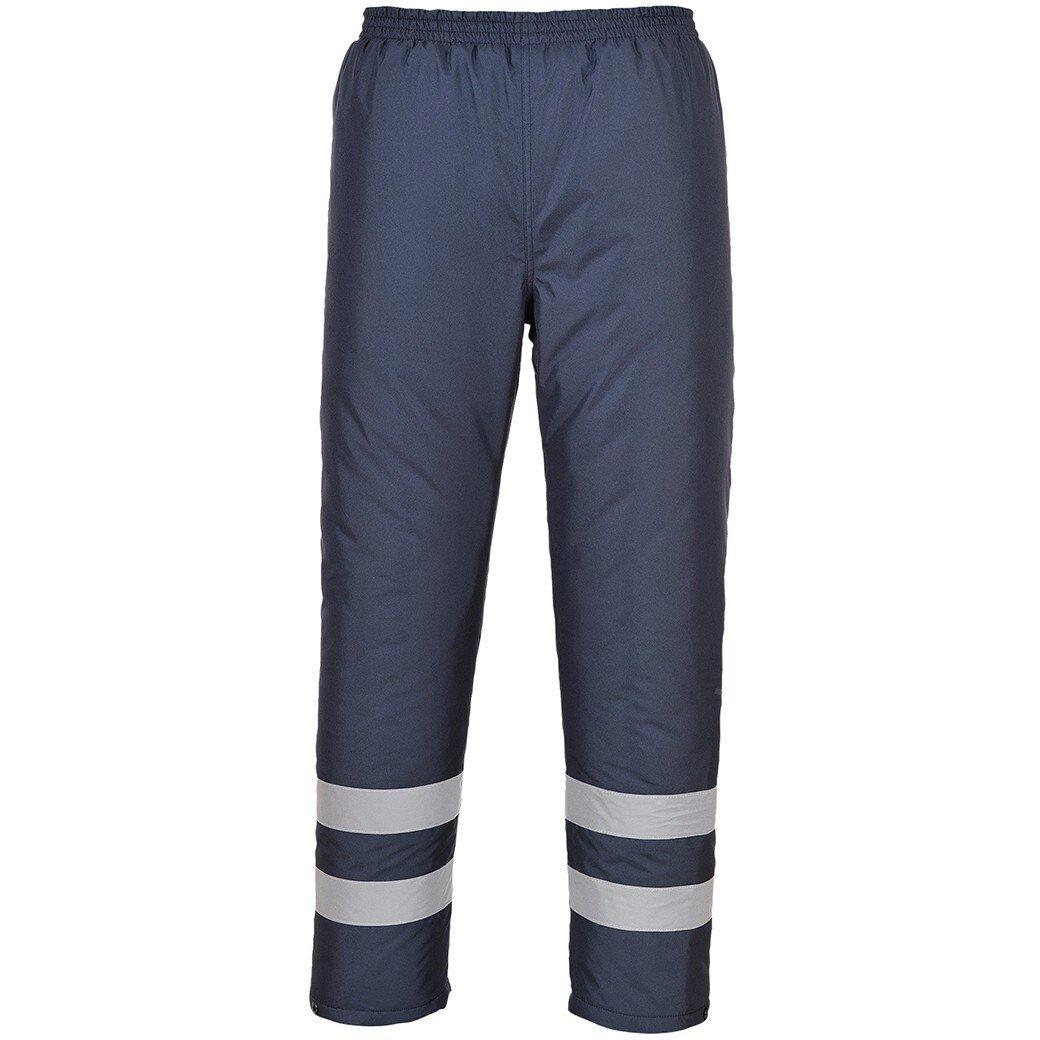 Portwest S482 Iona Lite Lined Trousers  Iona™ Rainwear - Navy Blue