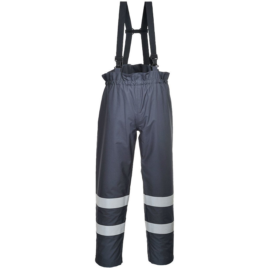 Portwest S771 Bizflame Rain FR Multi-Protection Trouser Flame Resistant - Navy Blue