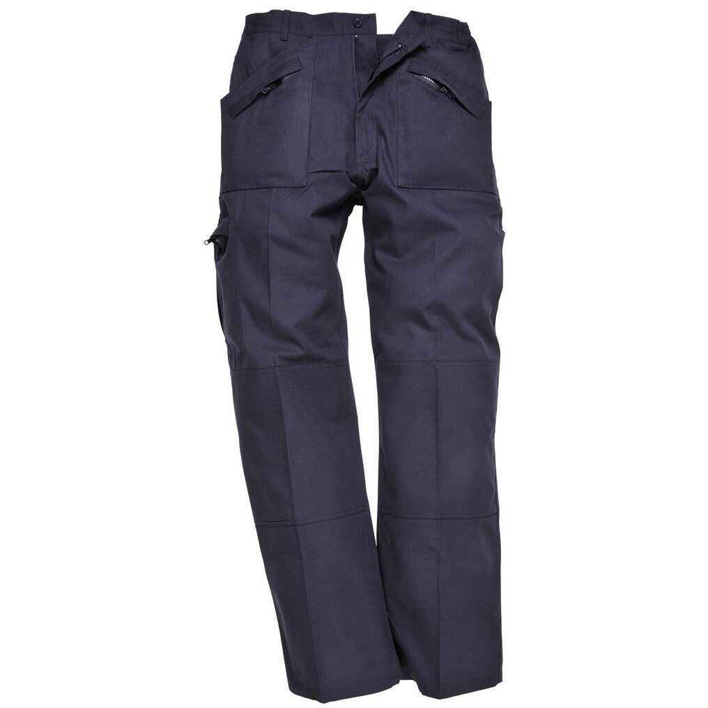 Portwest S787 Classic Action Trousers - Texpel Finish - Navy - Regular Leg Length