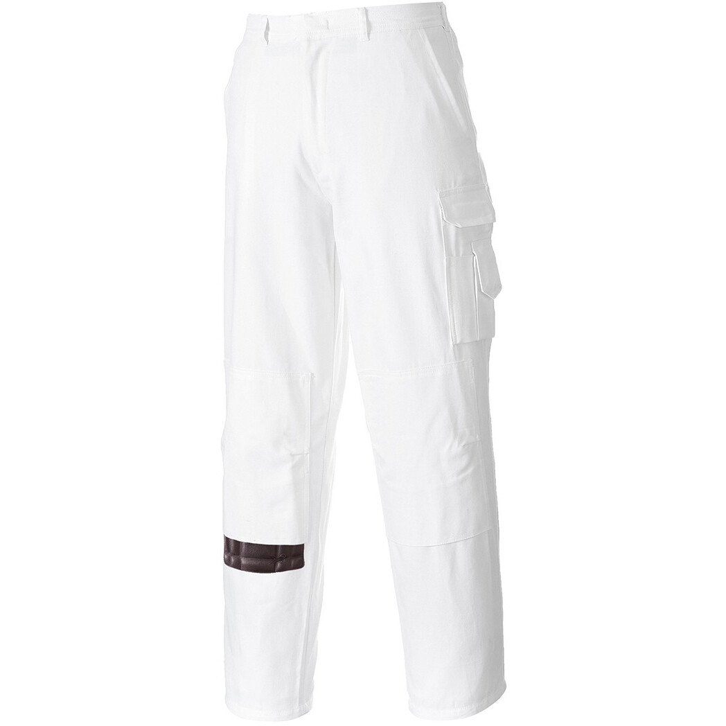 Portwest S817 Painters Trousers - White