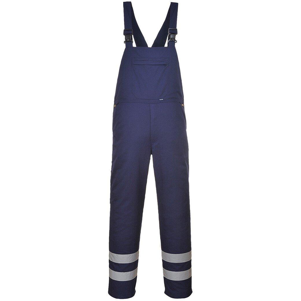 Portwest S916 Iona Bib and Brace - Iona Workwear - Navy Blue