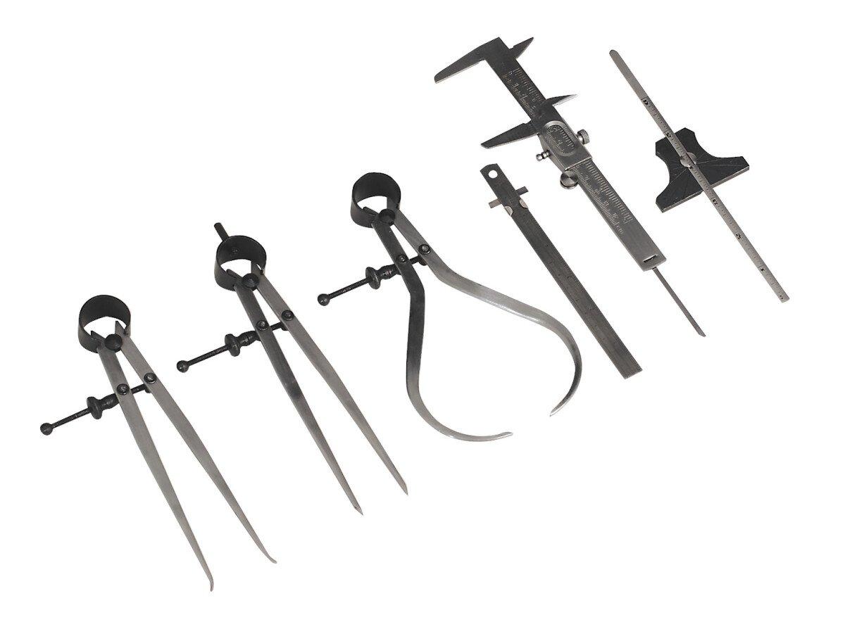 Sealey AK10000 Measuring Tool Set 6 Piece