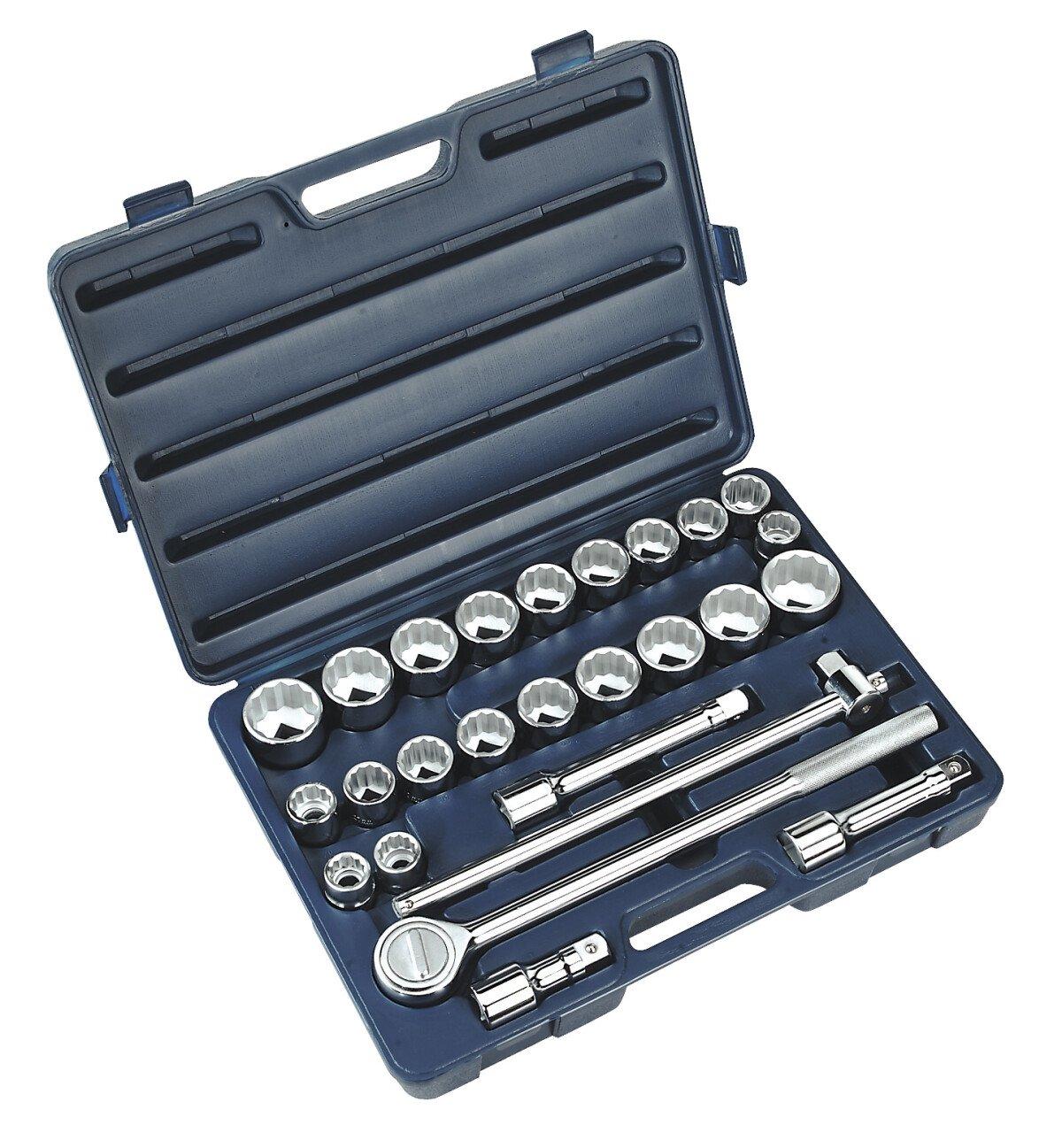"""Sealey AK2582 Socket Set 26 Piece 3/4"""" Drive MM/AF"""