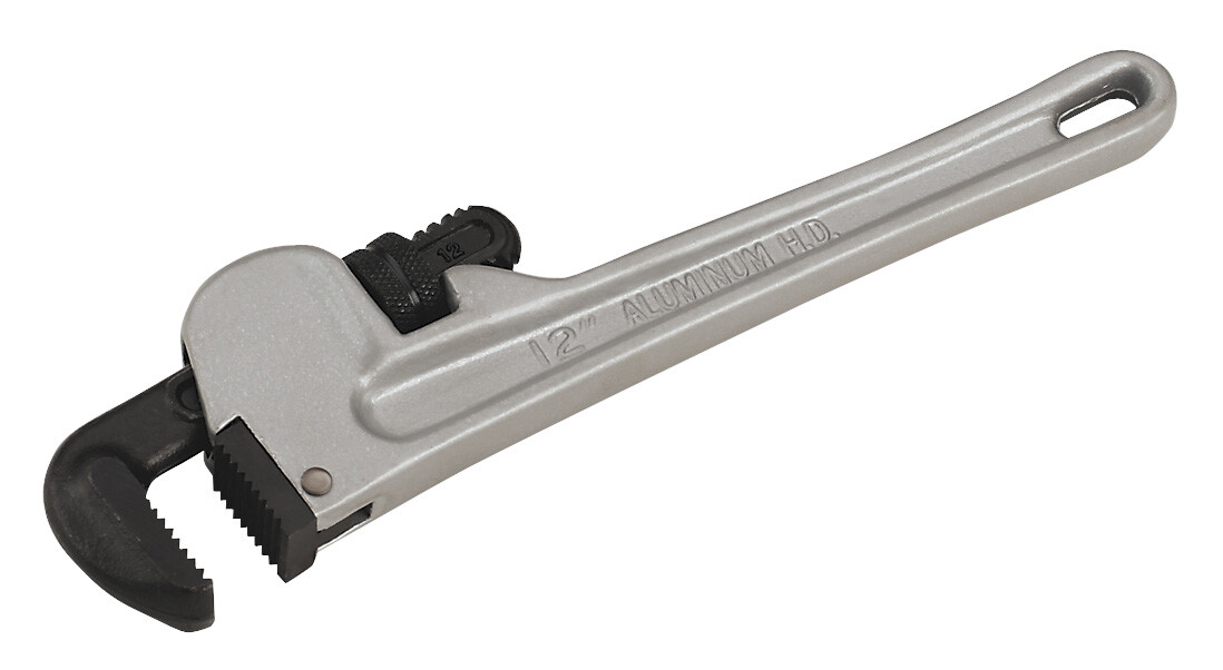 "Sealey AK5107 Pipe Wrench European Pattern Aluminium Alloy 300mm (12"")"