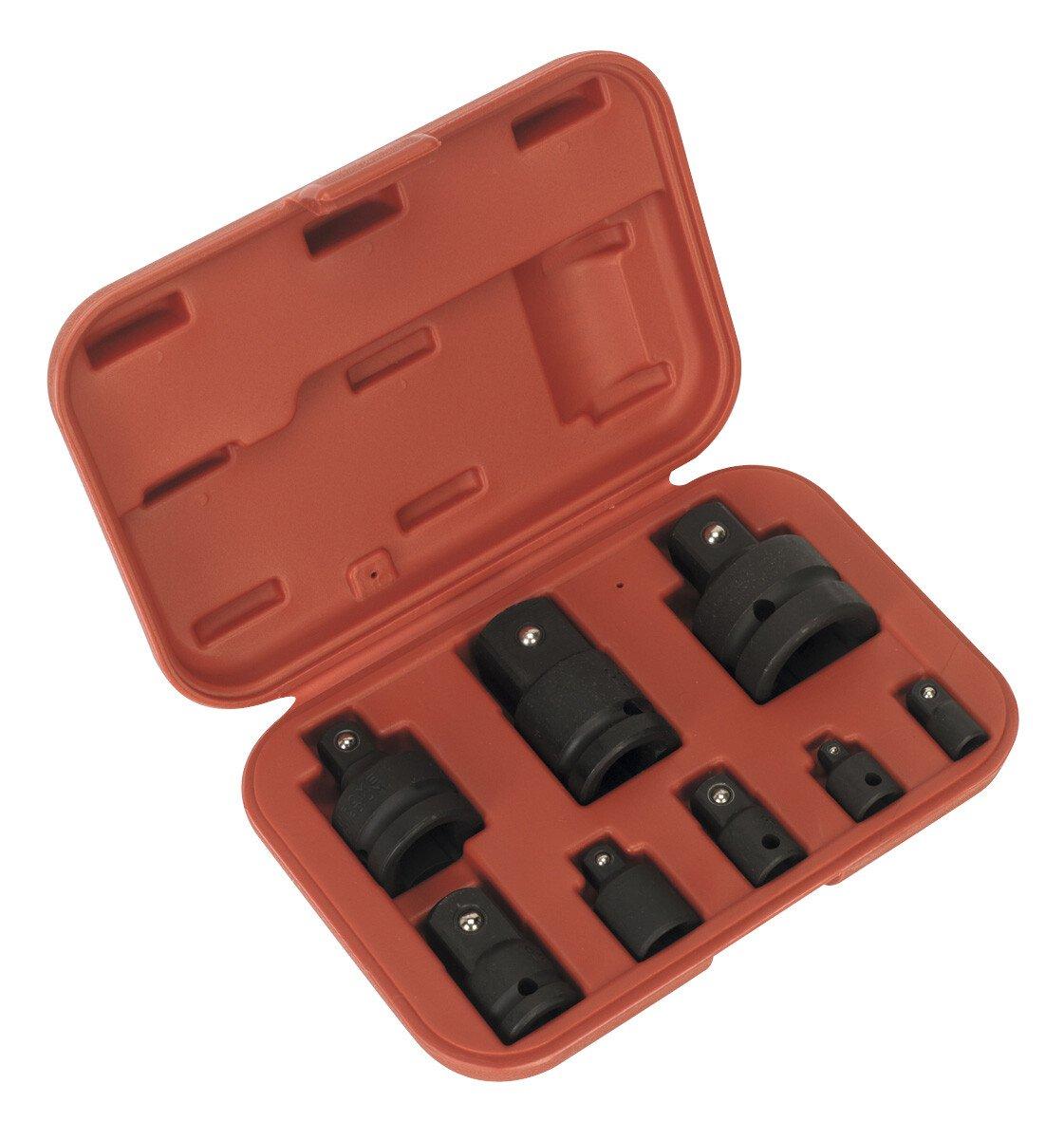 Sealey AK5900B Impact Socket Adaptor Set in Storage Case 8 Piece