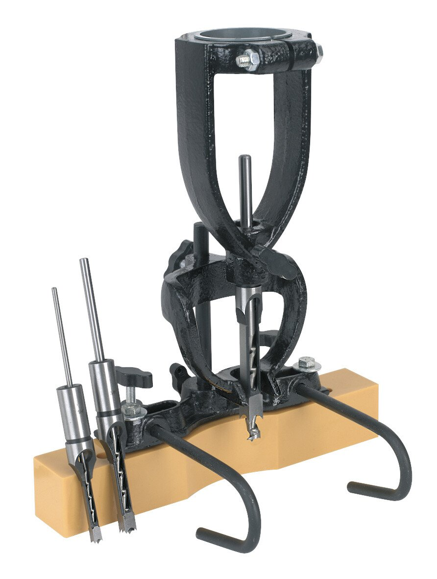 Sealey MA10 Wood Mortising Attachment 40-65mm with Chisels