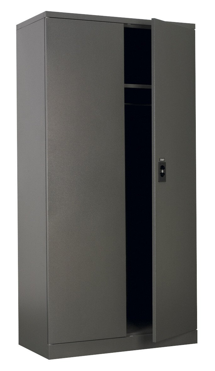 Sealey SC02 Floor Cabinet 5 Shelf plus Hanging Rail