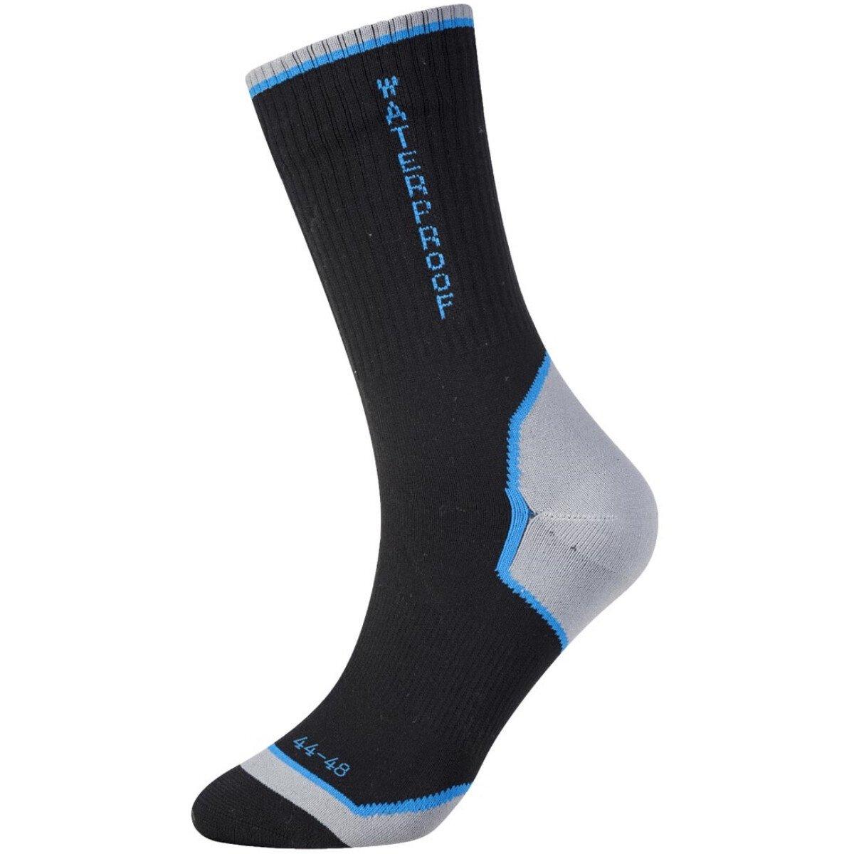 Portwest SK23 Black Size 10 - Size 13 (EU44 - EU48) Performance Waterproof Socks