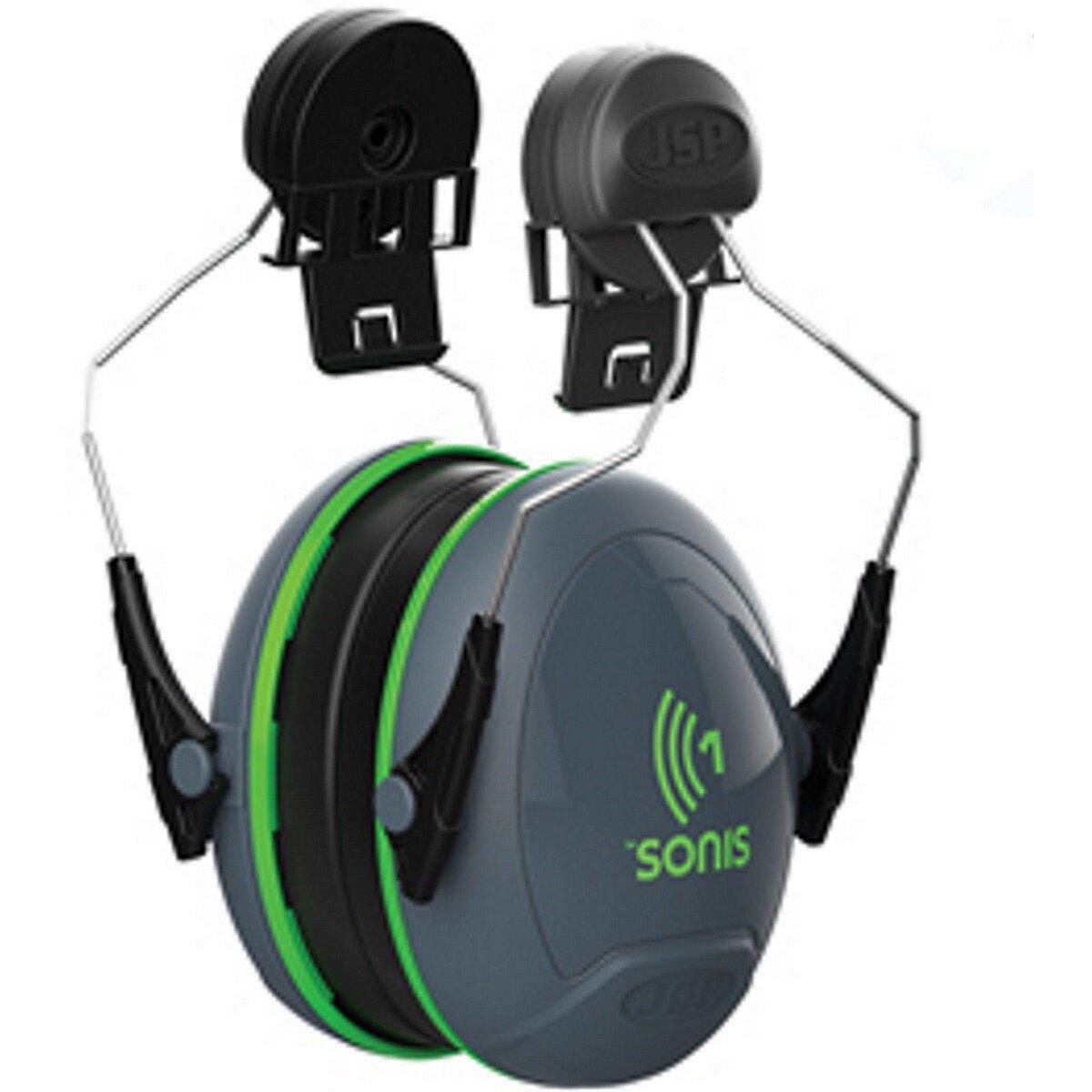JSP AEB010-0CY-800 Sonis® 1 Helmet Mounted Ear Defenders - SNR 26