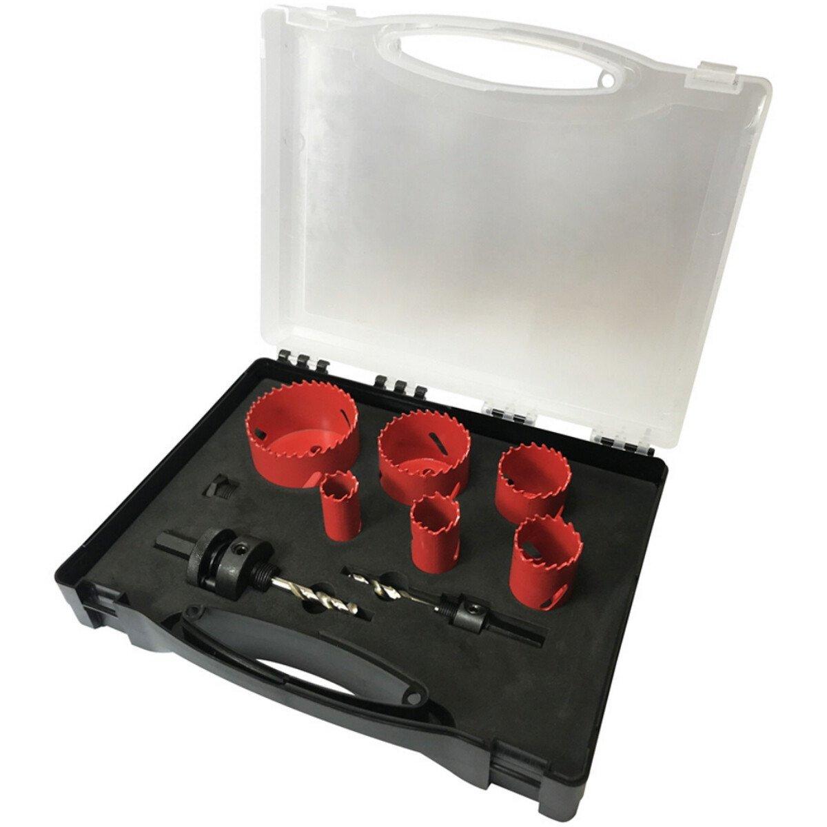 Spectre SP-17062 9 Piece Plumbers Holesaw Set