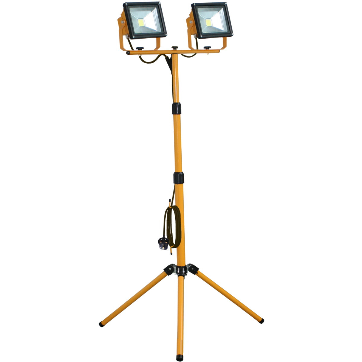 Spectre SP-17193 230V HD Twin 20W COB LED Floodlight Work Light