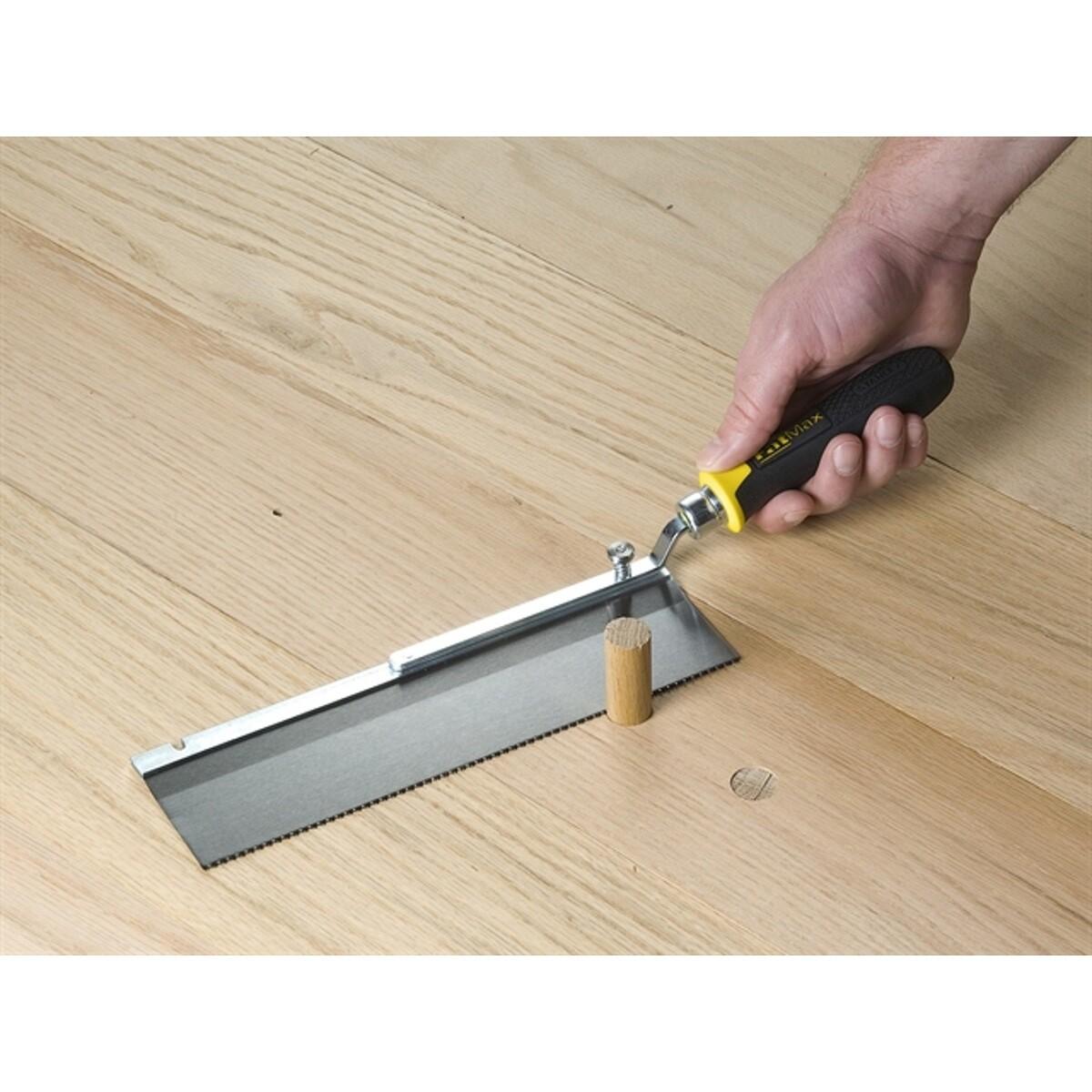Wall To Flush Cut Saws : Stanley fatmax reversible flush cut saw mm