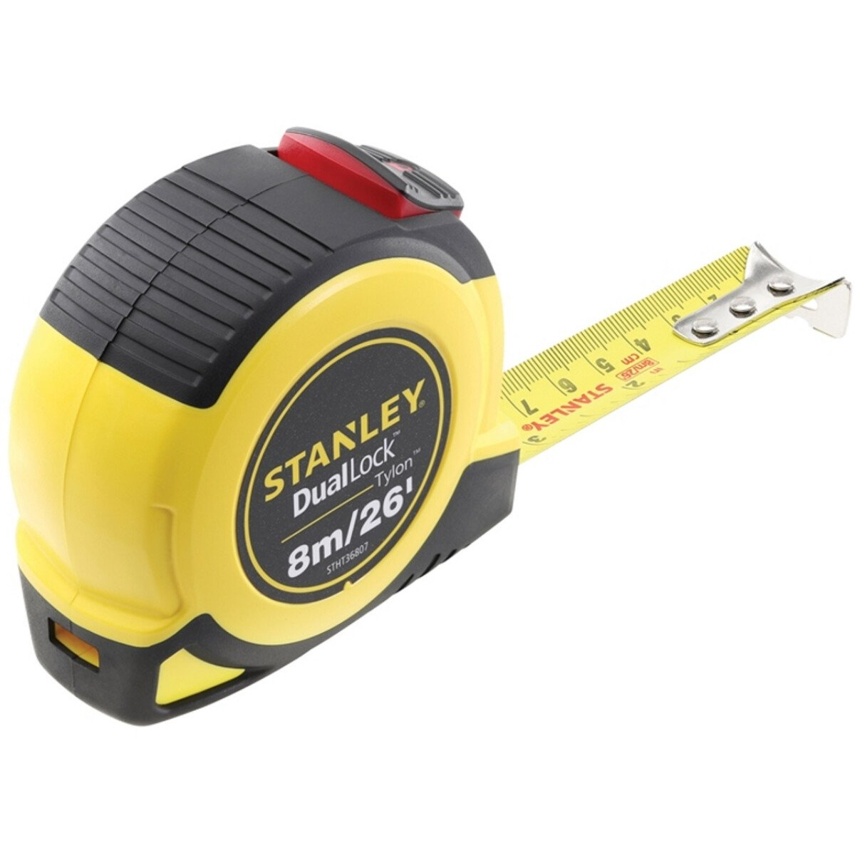 Stanley STHT36807-0 Dual Lock Tylon™ Pocket Tape with Metric and Imperial Graduations 8m/26ft (Width 25mm)