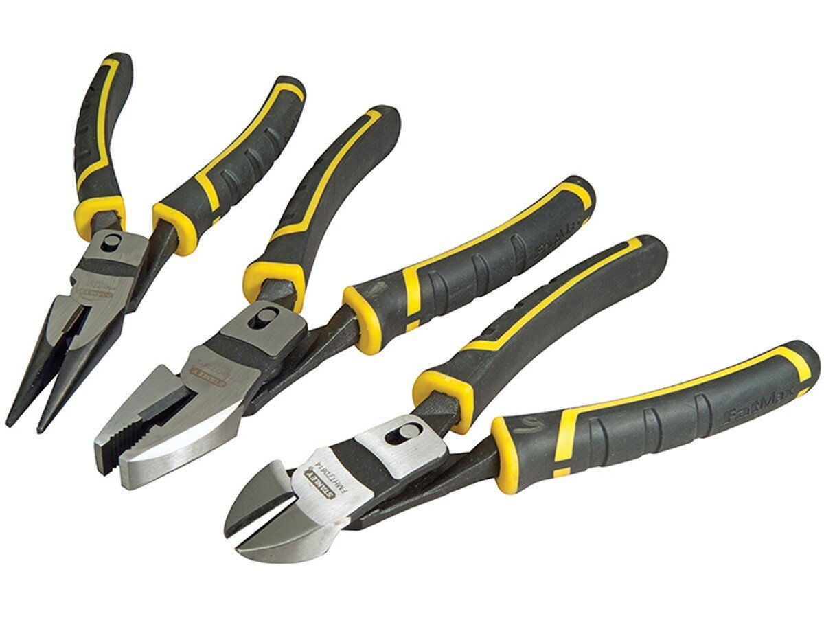 Stanley FMHT0-72415 FatMax Compound Action Pliers Set of 3 STA072415